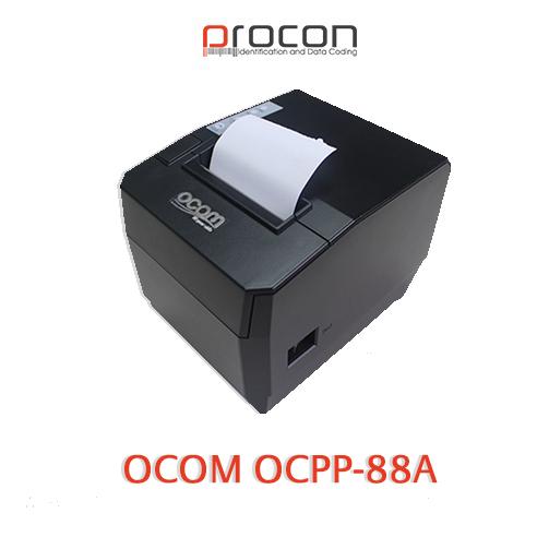 OCOM OCPP 88A çek printeri öz modelleri arasında sərfəli qiymət və sürətli çap etmə özəlliyi ilə seçilir. Marketlərdə, restoranlarda və digər xidmət, satış məntəqələrində istifadəsi əlverişlidir.
