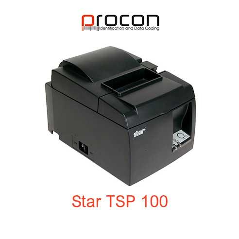 Star TSP 100 çek printeri