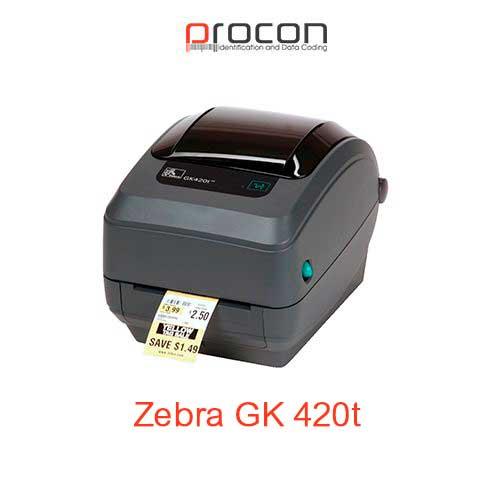 Zebra GK 420